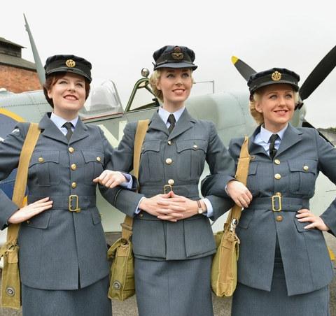 The Bluebird Belles - RAF