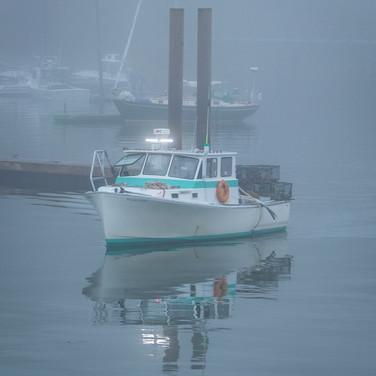 Foggy Harbor.