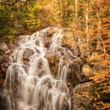 Hadlock Falls in Autumn.