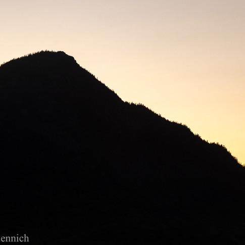Borestone Mountain Silhouette.
