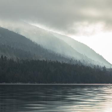 Misty Eagle Lake 2/3 crop.