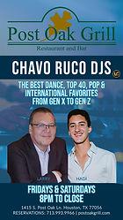 Chavo Ruco DJs at Post Oak Grill - Frida