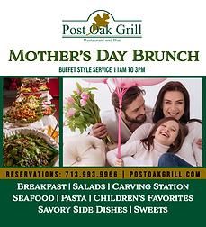 Post Oak Grill Mother's Day Brunch
