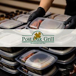 Post Oak Grill Special Takeout Menu resi