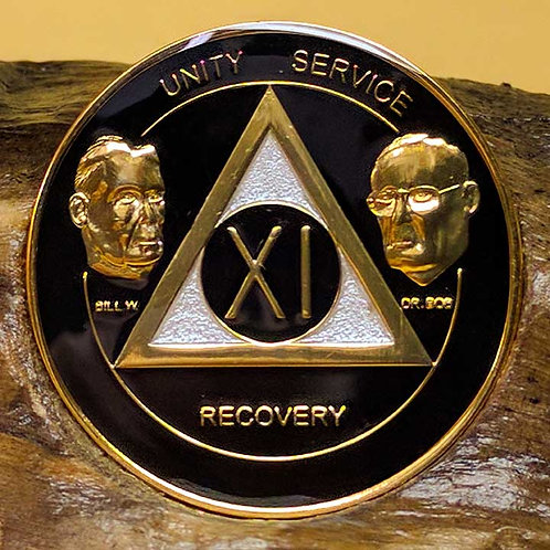 Founder Series Black & Gold Medallion