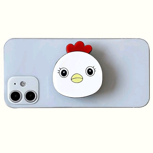 Chicken Pop Socket Pop-Out Phone Grip