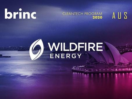 Wildfire Energy joins Brinc's Australia CleanTech Accelerator