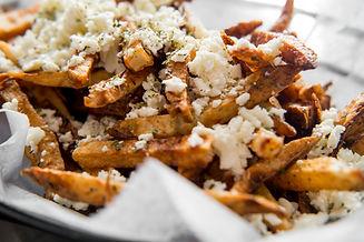 Delicious Mediterranean street cart frie
