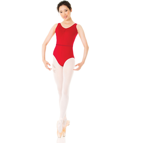 Pinch Front Tank Leotard (with Shelf bra) by Mondor