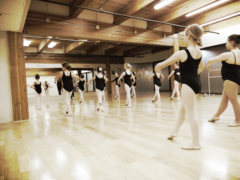 Ballet Class @ Ballet 'n' All That J