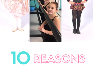 10 Reasons to Dance with us!