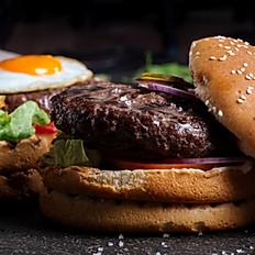 Argentina xüsusi burger / Argentina special burger