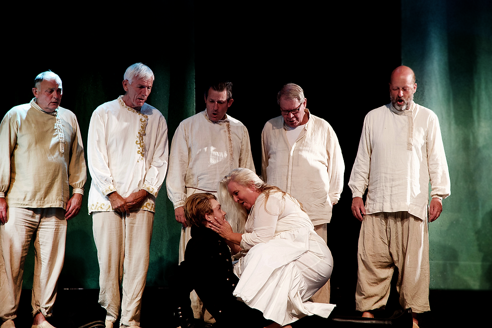 Opera i provinsens kor Boris Godunov