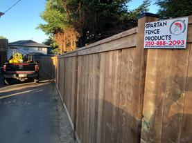 Custom Pressure Treated Fence