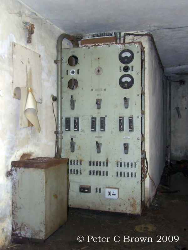 The EKCO Air Raid Shelter Power Room