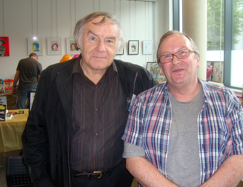 With Author Robert Hallmann