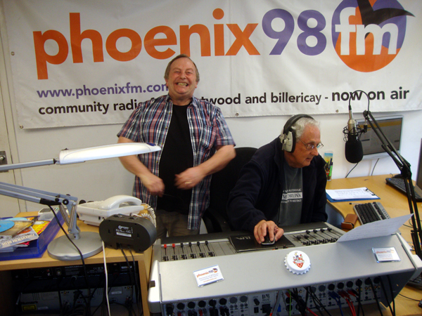 With Scott Ross at Phoenix98FM