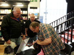 Book Signing at WH Smith, Southend