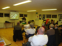 Giving a Talk at the Thames Amateur Radio Group