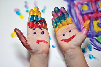 painted hands child_small_41378218v2.jpg