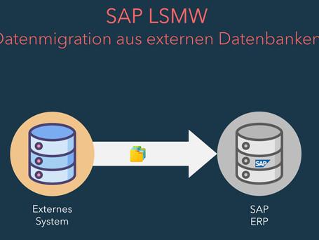SAP LSMW - Datenübertragung von externen Systemen zu SAP