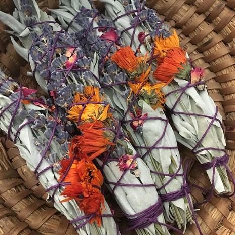 Floral sage bundles