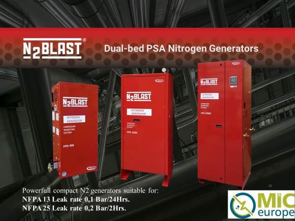 N2Blast NFPA 13 / NFPA 25