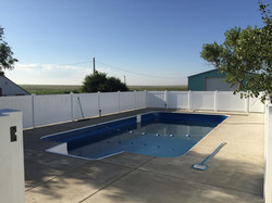 eldridge pool fence