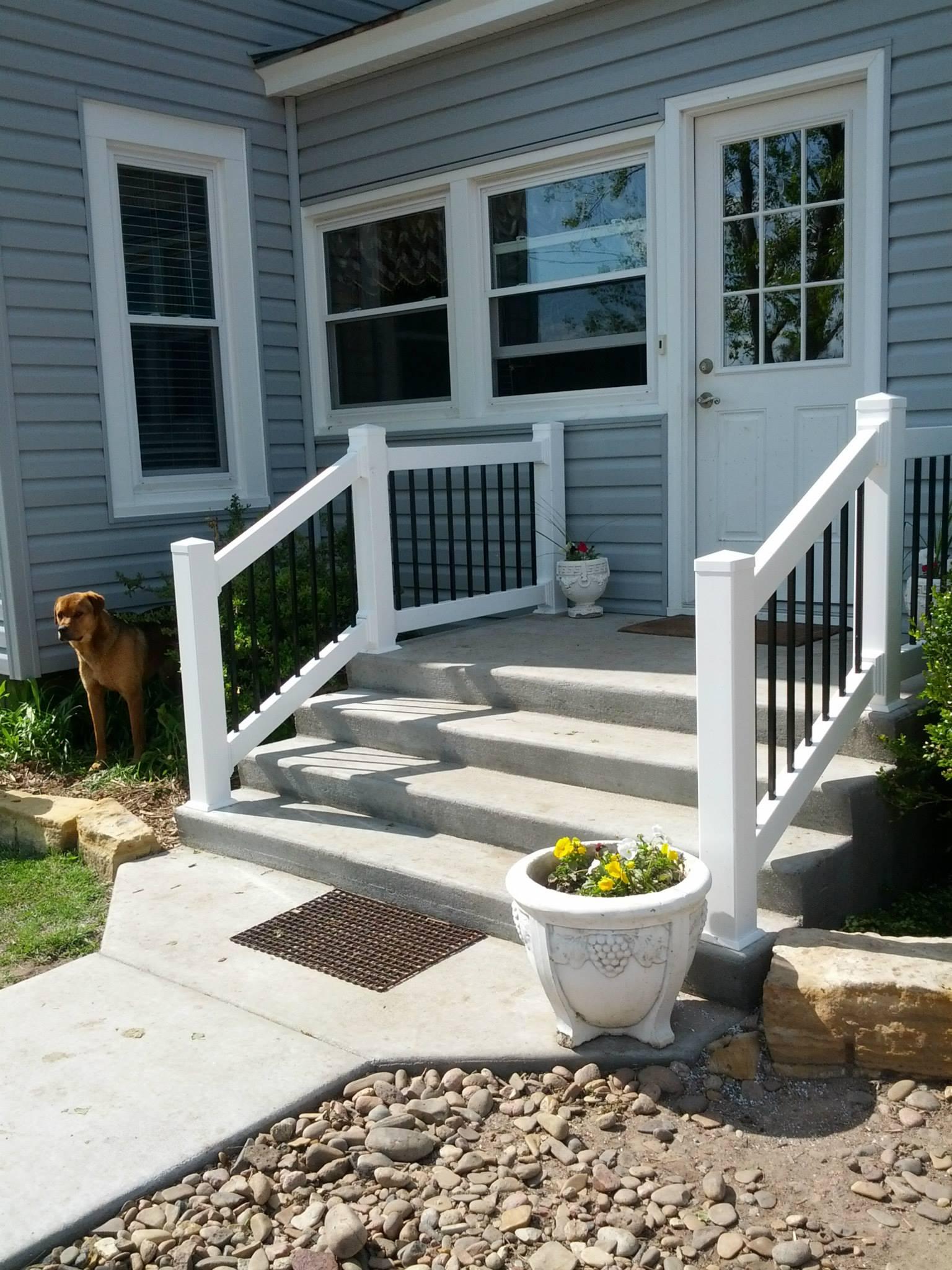 entryway fence