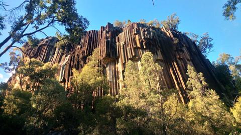 Sawn Rocks in Mount Kaputar National Park.