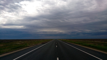 The Sturt highway towards Hay, NSW. Another 120km without services and not much to see.