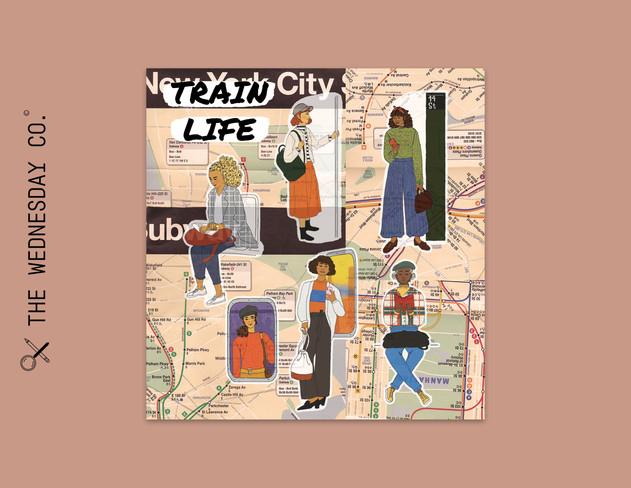 City Chicas: Train Life