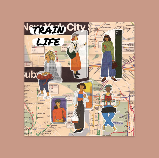 City Chicas: Train Life