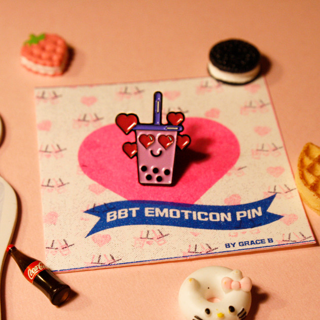 BBT EMOTICON PIN