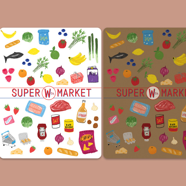 Supermarket Stickers