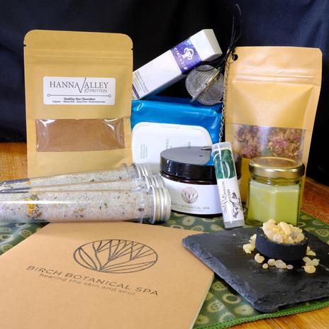 BIrch Botanical spa box membership janua