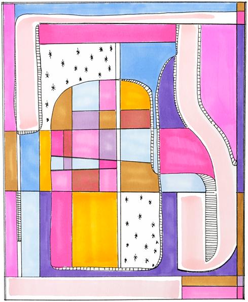 Jennifer Klemp Fine Artist  St. Louis St. Charles MO Fine art prints - Geometric Series