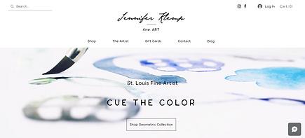 meghan reed website design m reed studio st. charles st. louis MO