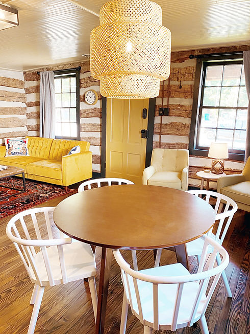 St. Charles MO Historic Cabin Vacation Rental Near Main Street Airbnb Camp Mill Pond