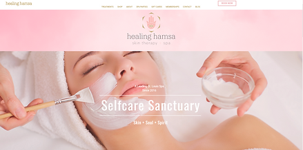 healing hamsa spa M. Reed Studio Website