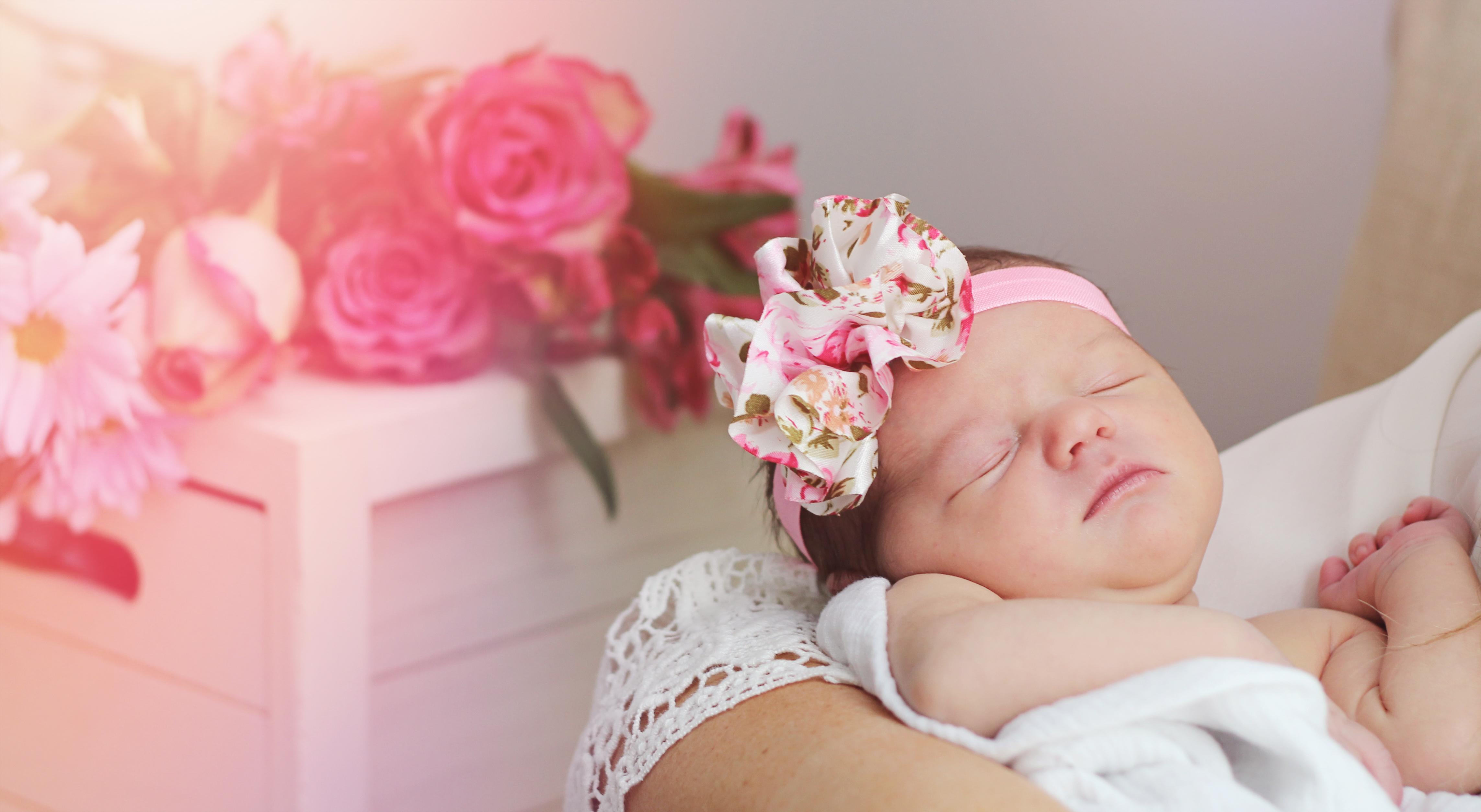 Newborn photograph St. Charles MO