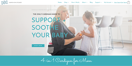 Mommy Wrap top website designer st charl