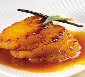 Recette d'ananas flambé au rhum
