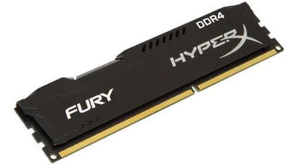 HyperX Fury Black 16 GB  DDR4 Internal Memory (HX421C14FB/16)
