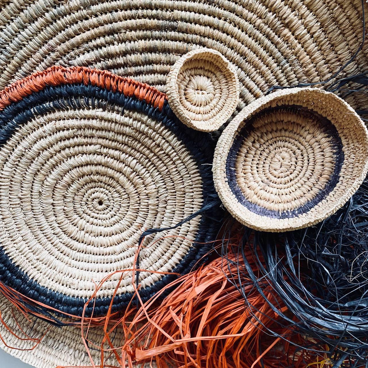 Raffia Basket Weaving Thursday August 12