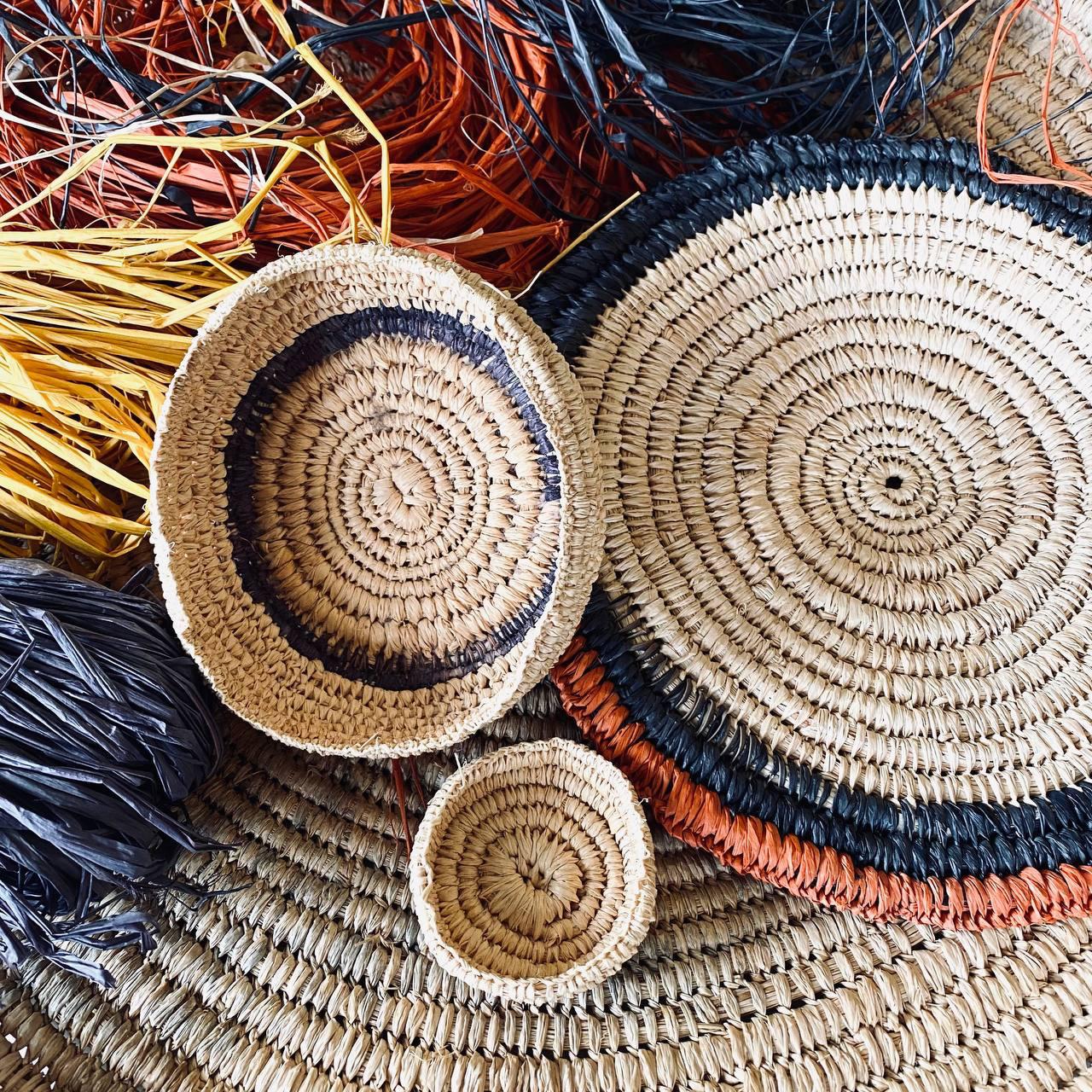 Raffia Basket Weaving Thursday August 26