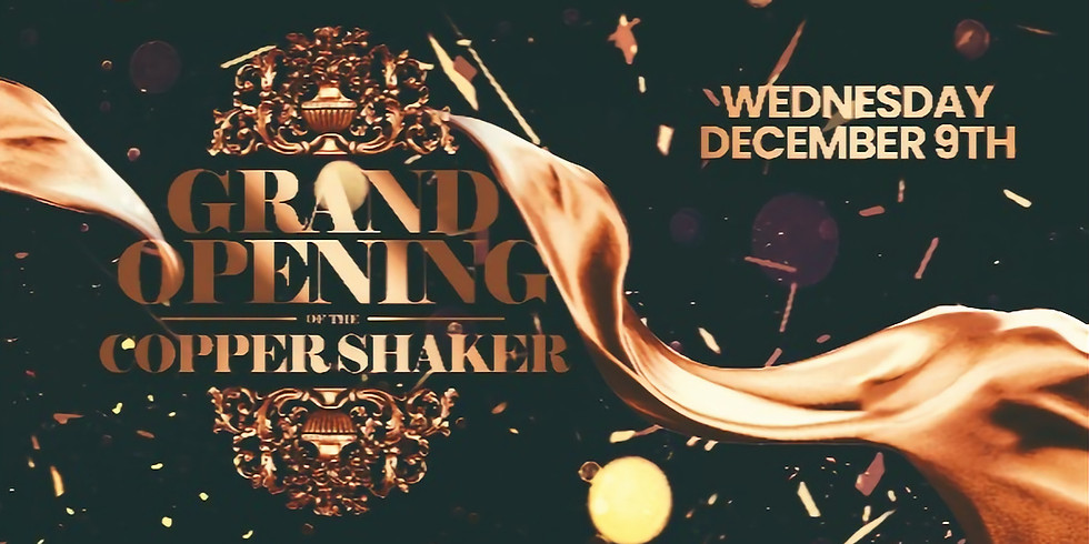Copper Shaker Ybor City Grand Opening