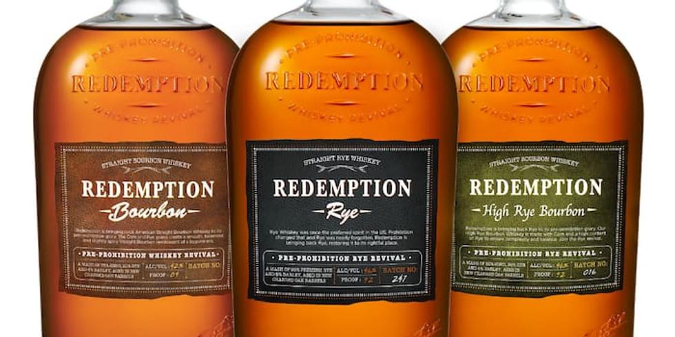 Spirited Dinner Series: Redemption Distilling