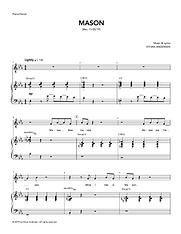"""Mason"" sheet music"