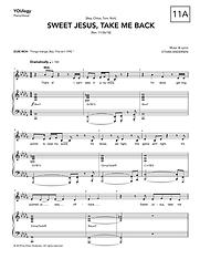 """""""Sweet Jesus, Take Me Back"""" sheet music"""